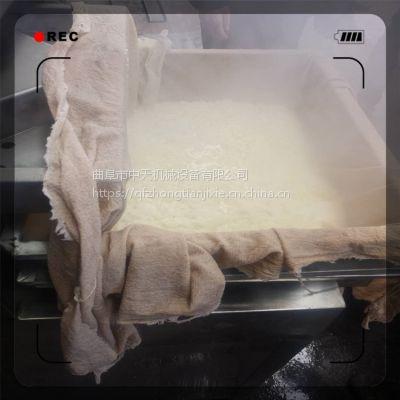 自动磨浆豆腐机 压豆腐机河南 蒸汽煮浆