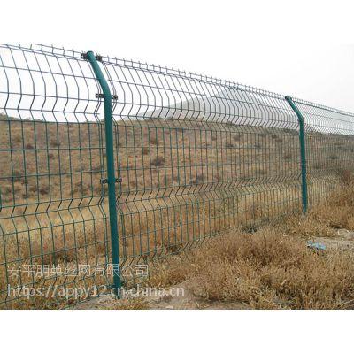 厂家现货直销 双边丝围栏网 双边园地围栏 圈地围栏