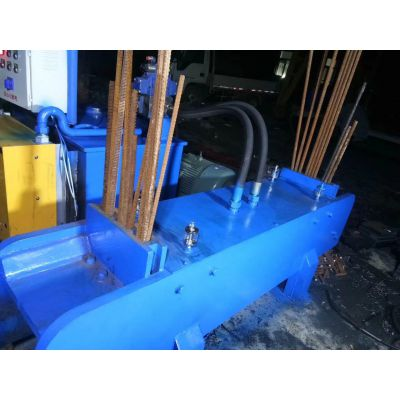 200型钢筋剪切机 新型液压自动扁铁钢筋切粒机 山东思路批发液压机械设备