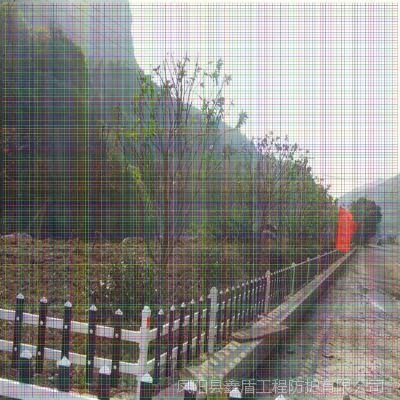 四川成都武侯塑钢护栏生产商 草坪护栏网 草坪护栏订做