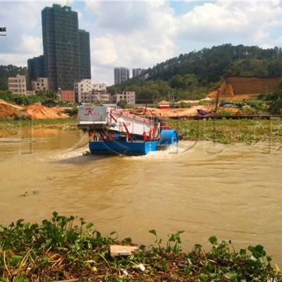 湖北打捞水草设备 清理收割水面杂草船