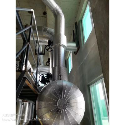 专业承接设备罐体的外护保温施工内层岩棉板,橡塑板罐体美观外护保温施工