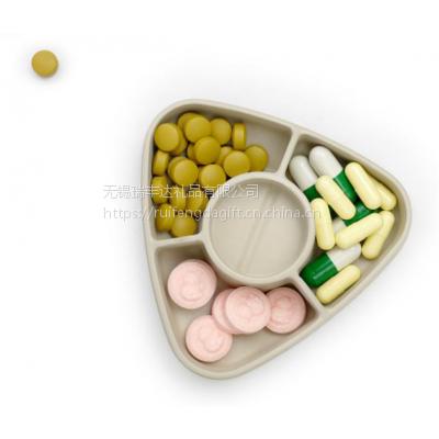 切药 开瓶启药盒 小药盒便携一周分装药盒随身收纳分药盒迷你药品药丸盒 医院促销礼品 医疗机构展会