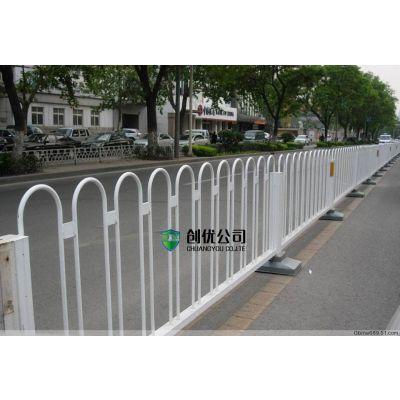 定制道路交通中央隔离栏 圆管U型市政京式护栏