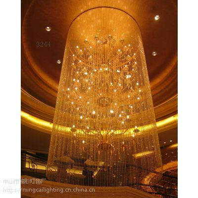 欧式酒店工程灯 酒吧吊灯 大型非标定制灯