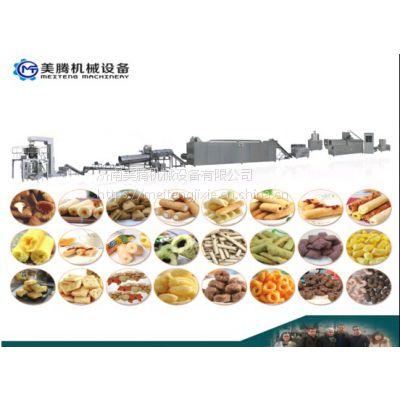 65酥京果膨化机械设备 江米条生产线