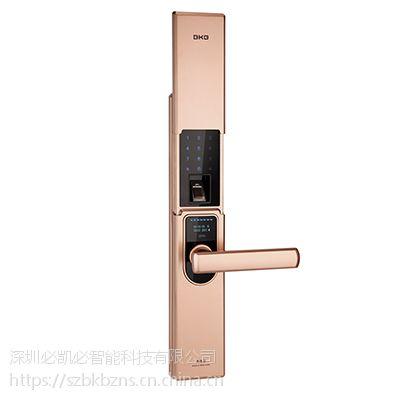 K-1800指纹密码锁(红古铜) -智能锁供应-深圳必凯必