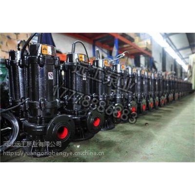 WQ无堵塞潜水排污泵 化工污水处理泵 65WQ37-13-3污水提升泵