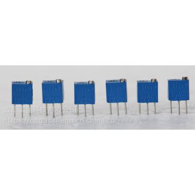 BOCHEN3262W顶调多圈电位器,3262W-502 5K精密电位器