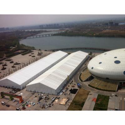 东莞大型秋季商品展销会活动帐篷。卡帕帐篷租赁,免费安装