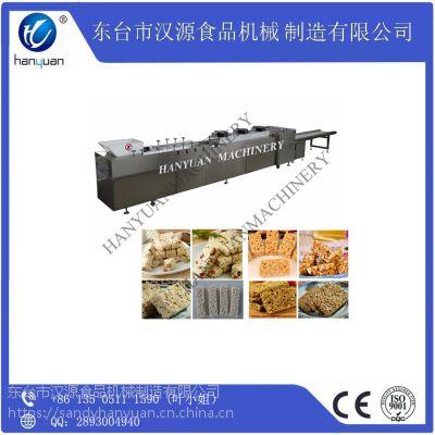 厂家直销汉源HY-40多功能全自动花生糖芝麻糖瓜子酥切块机