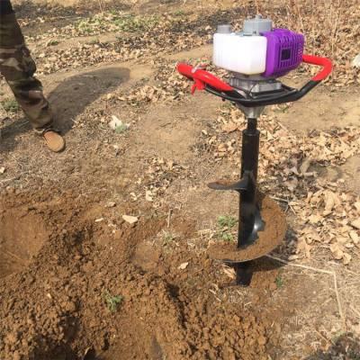 双人手提挖坑机 树木种植打坑机 小型挖坑机价格