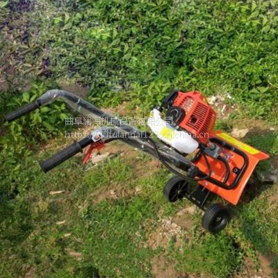 手推灵活大棚小型旋耕机 农用除草机 翻土机 耕整机