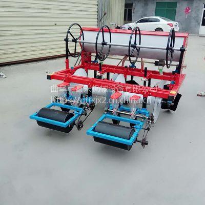 高粱汽油精播机-富兴两行玉米大豆施肥种植机-四轮车配套谷子播种机