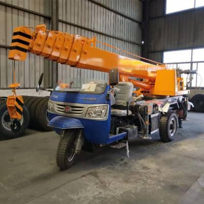 济宁三石3吨时风三轮吊机构形式伸缩臂厂家价格