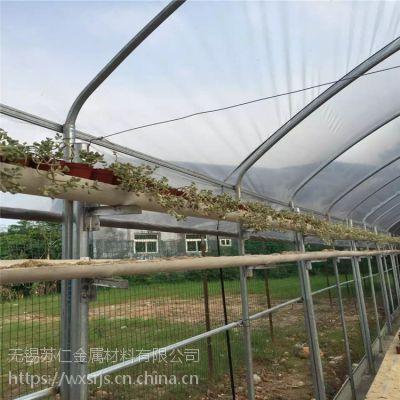 热镀锌连体钢架温室大棚建设厂家,温室养殖大棚 GP825养殖连栋大棚