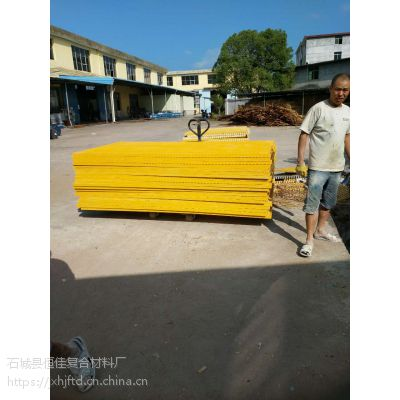 江西恒佳赣州 4S店洗车房玻璃钢格栅排水沟地沟盖板 1.22*2.44m