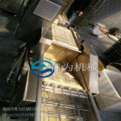 汉堡虾排生产机器,汉堡虾排裹粉机厂家