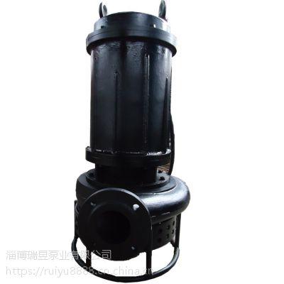 排沙潜水泵-耐磨排沙潜水泵选型-泵城直卖铸钢沙泵