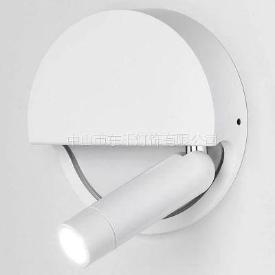 外贸出口 厂家直销LED壁灯 创意卧室客房床头壁灯 工程别墅酒店LED阅读灯 过道壁灯镜前壁灯射灯