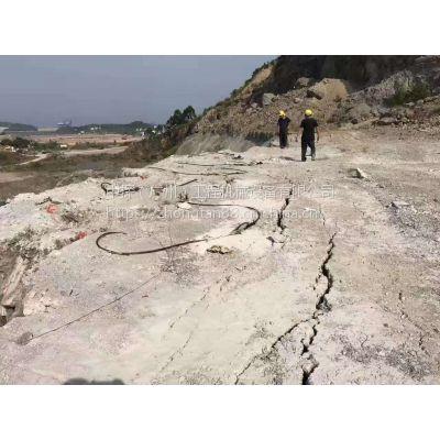 惠阳气体爆破房产基坑施工爆破108-1800型