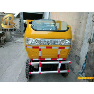 空心砖气压砖运输车 拓锐可改装下井两驱装载运输车 1