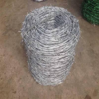 刀片刺绳图片 安平县刺绳价格 铁丝网防辐射