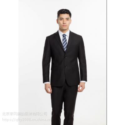 现货大量供应男女士职业套装黑色和藏青色