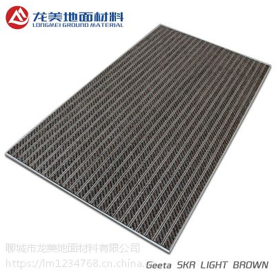 厂家直销门厅进门防滑耐磨抗压地垫 定制现代简约铝合金地垫