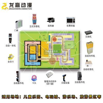 儿童乐园管理系统 游乐场电玩城刷卡管理系统 龙胜云乐园软件