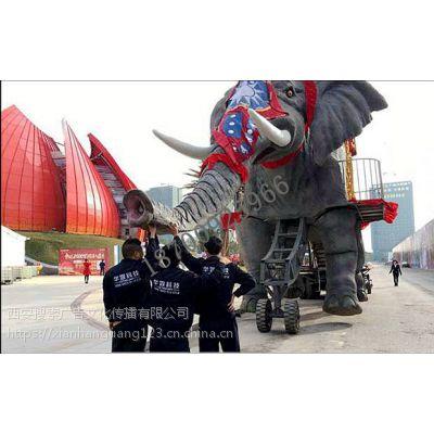 暖场道具大型巡游机械大象现货出租出售_会动会叫的机械大象