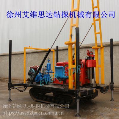 徐州热销开孔直径300mm勘探钻机 液压钻机及其履带底盘