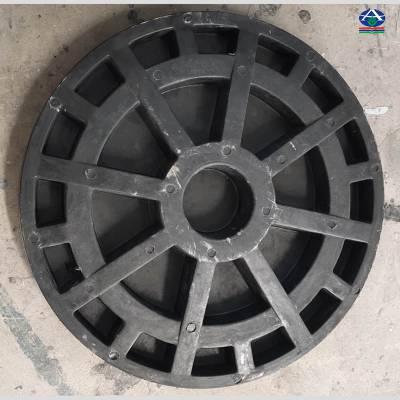 加油站有多重功能的 直径可定制窨井盖 河北华强科技复合材料