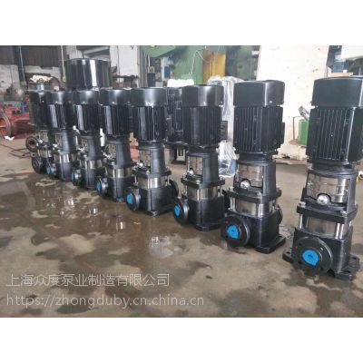 四川达州市QDLF12-160 11KW CDL压榨泵上海众度泵业