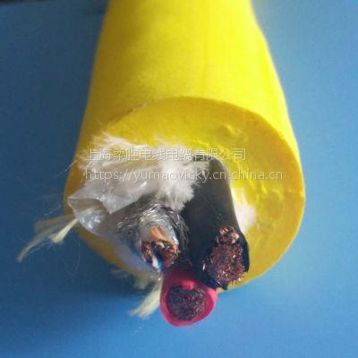 水下机器人脐带缆 零浮力ROV凯夫拉缆电源线网络控制线一体线定制