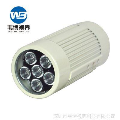 12W道路监控补光灯 led红外阵列补光灯 智能交通补光灯80m激光灯