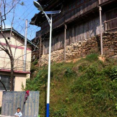 承运BY-005陕西农村太阳能路灯一事一议专用LED户外照明一体化路灯