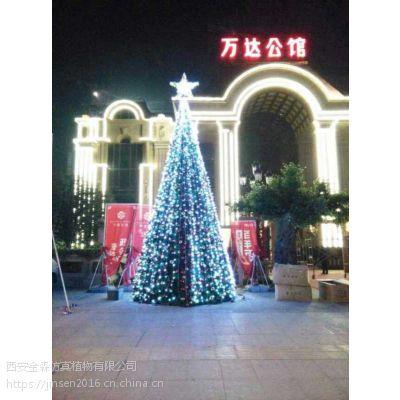 西安哪有卖圣诞树,仿真树,圣诞树价格-西安金森造景