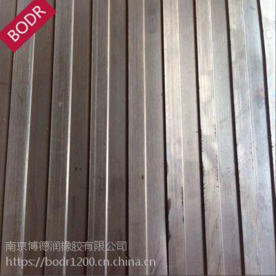 实力供应/蓝色条纹防滑垫/宽条纹防滑板 黑色细条纹4mm厚 丁腈橡胶板