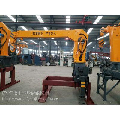 头条促销各吨位随车吊吊机 厂家推荐各吊臂价格