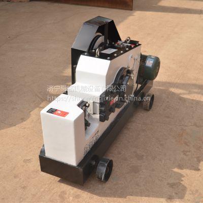 山东济宁促销钢筋切断机 角钢剪切机 手动型方钢截断机 现货销售