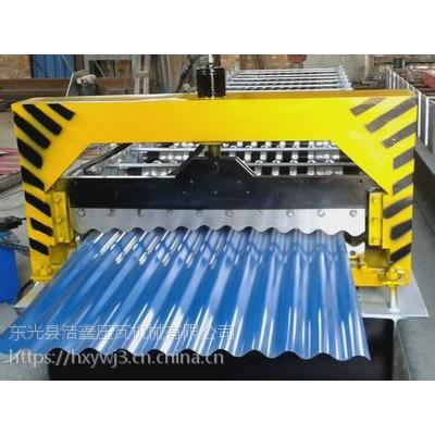 河北浩鑫压瓦机厂家现货直销850型彩钢瓦机