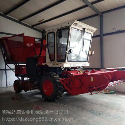 自走式玉米秸秆青储收割机 青饲料回收机 欢迎选购
