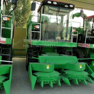 宁夏大型圆盘式青贮饲料粉碎收获机 玉米秸秆青贮回收机