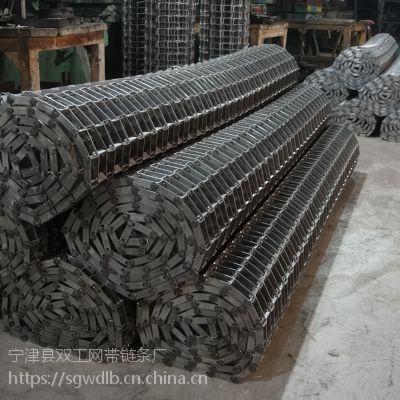不锈钢梯形网带 清洗机网链 马蹄链输送带 好网带选双工