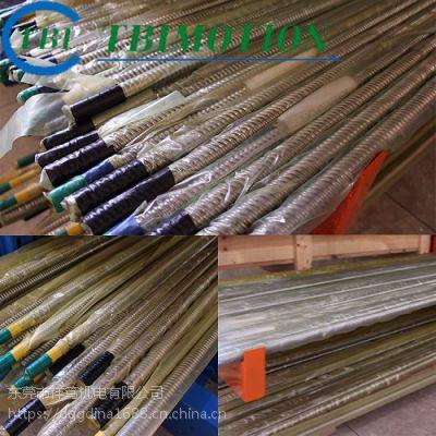 SFSR5005C1D单螺母滚珠丝杆;DFSR5005C1D双螺母滚珠丝杆;台湾TBI正品丝杆