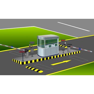 【蚌埠远距离蓝牙停车场系统】博进蚌埠大厦智能停车场管理系统全套设备