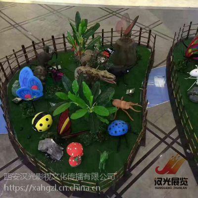重庆科普展昆虫展_会动会叫的仿真昆虫租赁出售