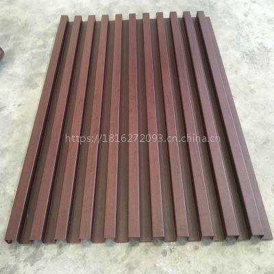 厂家供应铝合金仿木纹长城板