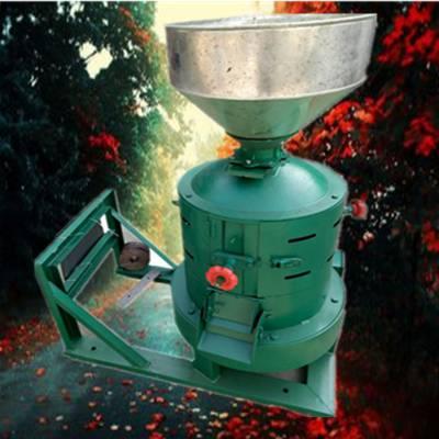 锡林郭勒盟谷子去皮机 启航牌立式家用高粱脱皮机 电动节能型碾米机生产厂家